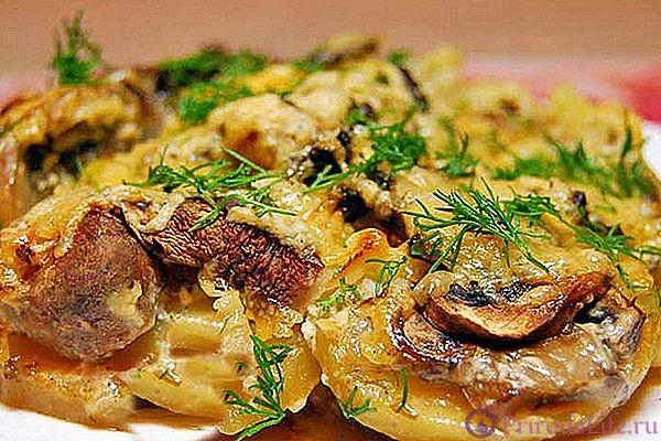Свинина с картошкой в духовке — 5 простых и вкусных рецептов