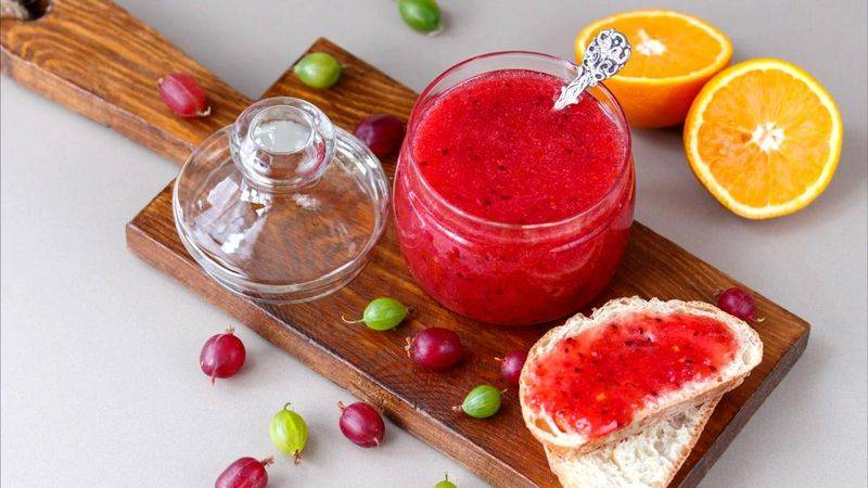 Крыжовник с лимоном на зиму: рецепты без варки пошагово с фото