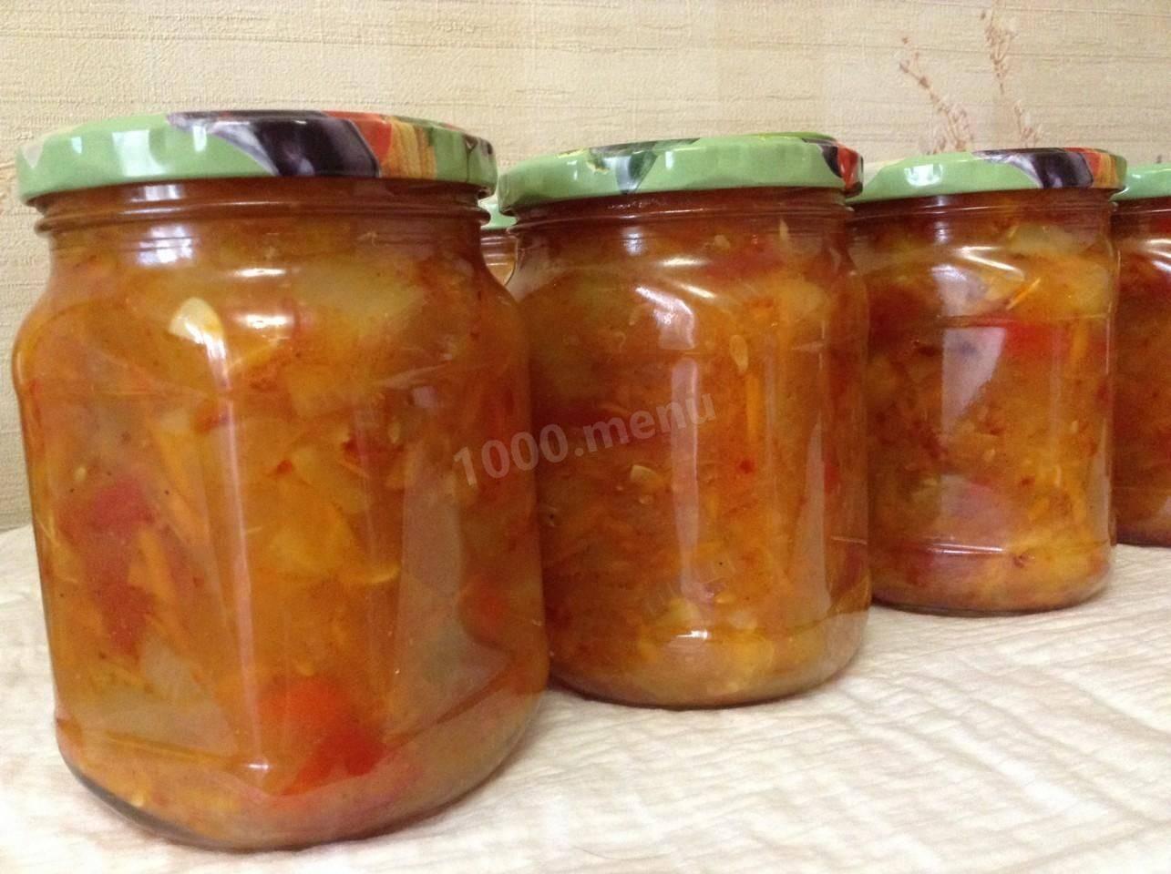 Анкл бенс из кабачков на зиму: пошаговые рецепты с фото