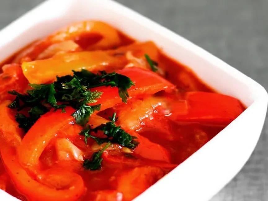 Простые рецепты лечо на зиму с томатной пастой из болгарского перца и морковки