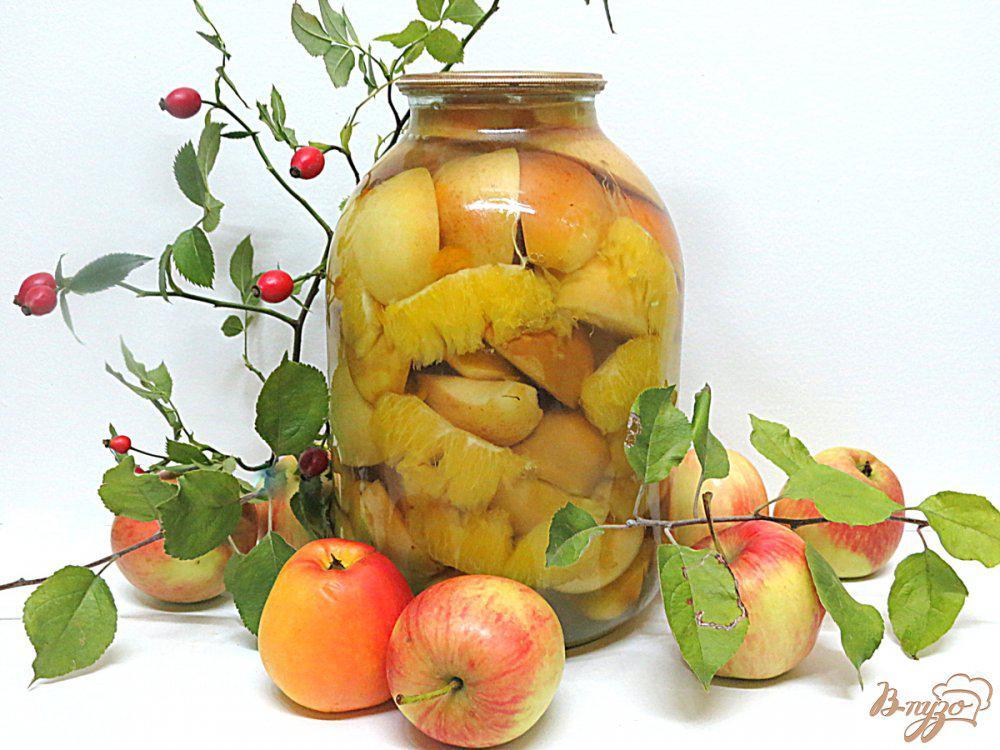 Вкусный компот из яблок на зиму: рецепты на 3-х литровые банки без стерилизации