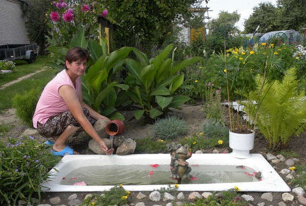 Декоративный пруд своими руками: как сделать, планировка