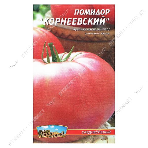 """Томат """"корнеевский розовый"""": описание сорта, рекомендации по выращиванию вкусных помидоров русский фермер"""