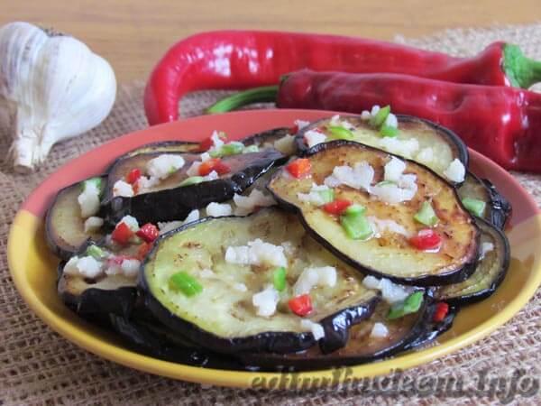 Баклажаны огонек на зиму –  рецепт с фото приготовления ленивого салата в духовке на ydoo.info