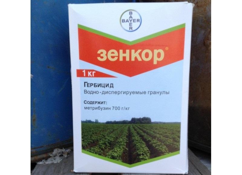 Зенкор ультра от сорняков: инструкция по применению для картофеля