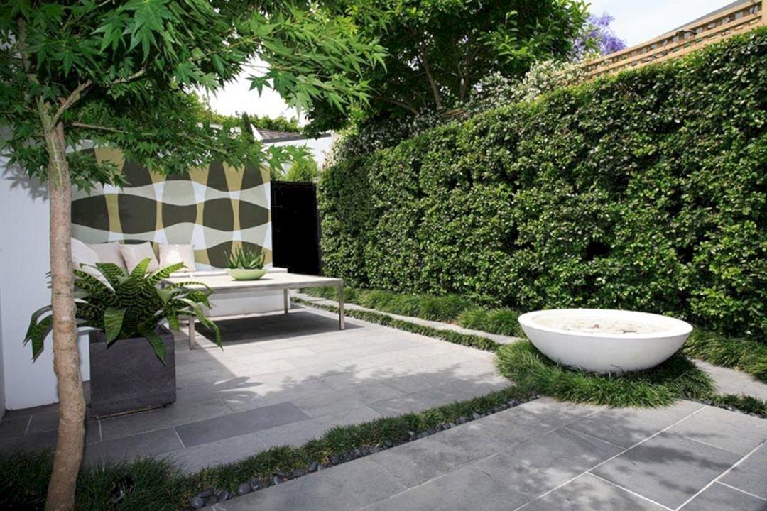 Ландшафтный дизайн дачного участка в стиле минимализм