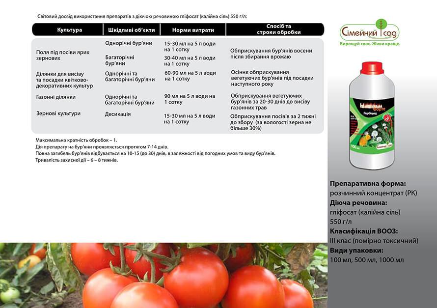 Инструкция по применению и состав гербицида злактерр, дозировка и аналоги