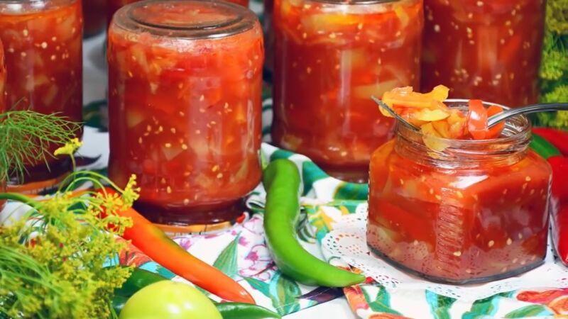 Лечо из болгарского перца на зиму — рецепты «пальчики оближешь»