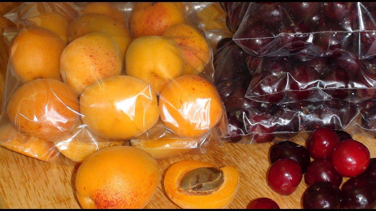 Заморозка сливы на зиму в домашних условиях в морозилке в пакетах, с косточками и в сиропе