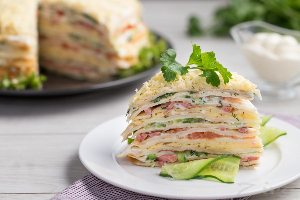 Блины с сыром - 45 домашних вкусных рецептов приготовления