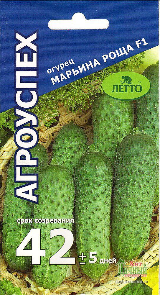 Огурец марьина роща f1: характеристика и описание гибридного сорта с фото