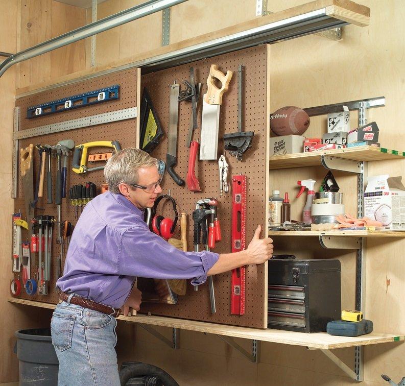 Как обустроить гараж своими руками