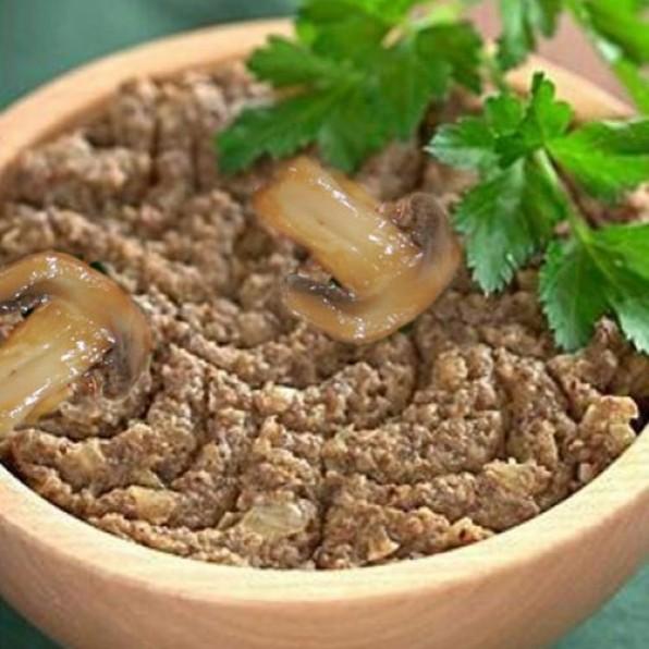 Икра грибная из сушеных грибов — пошаговый рецепт с фото
