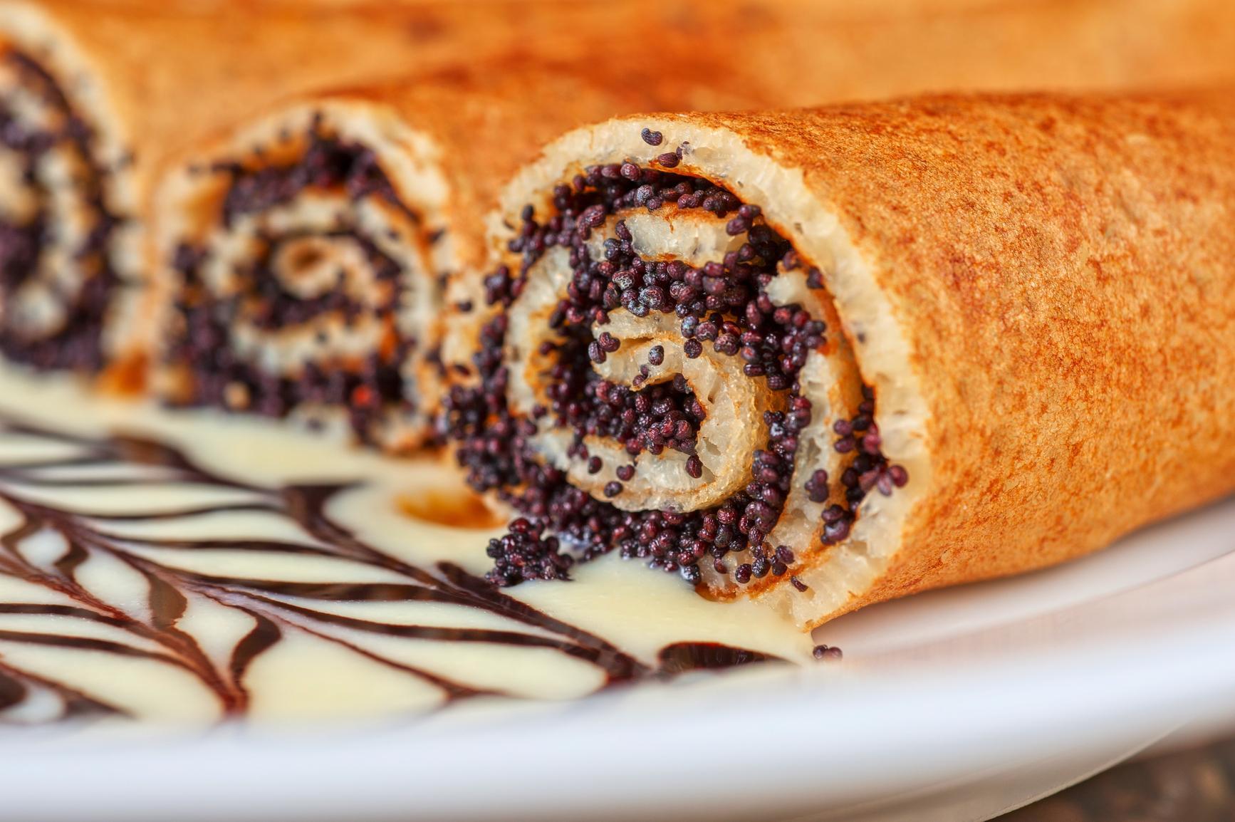 Как приготовить маковую начинку: для рулетов, булочек, тортов, блинов