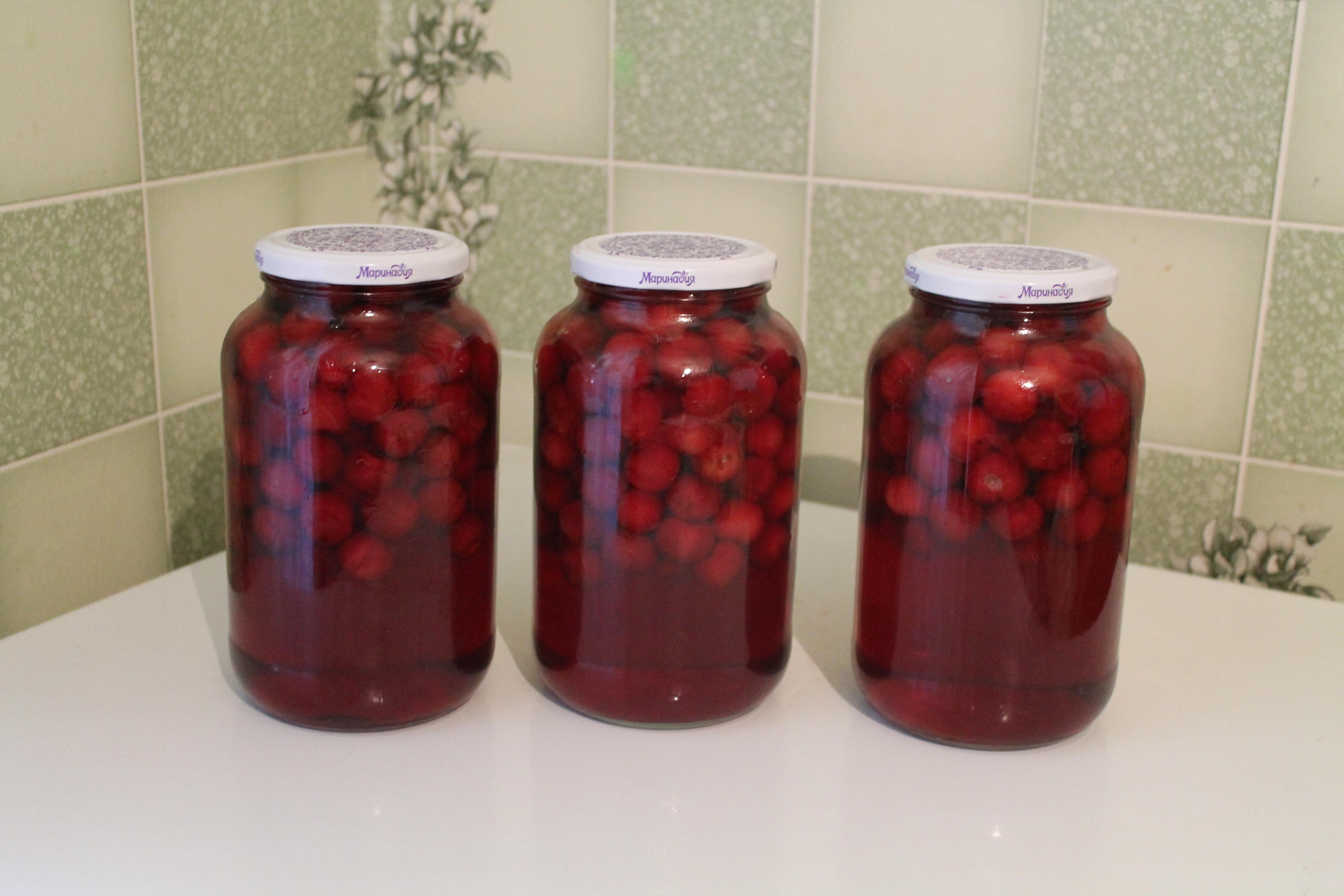Компот из замороженной вишни - 5 простых рецептов вишневого компота