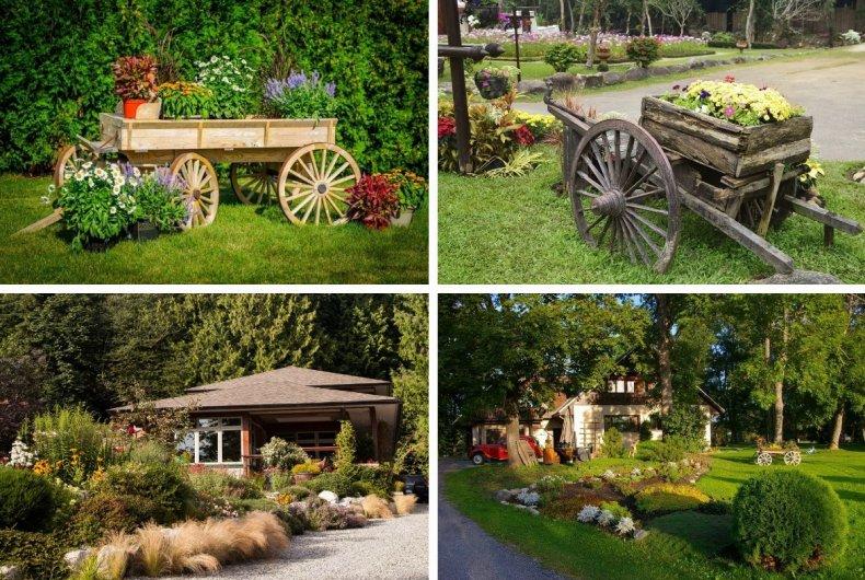 Сад в сельском стиле - особенности, элементы, хитрости. декорирование и уход.