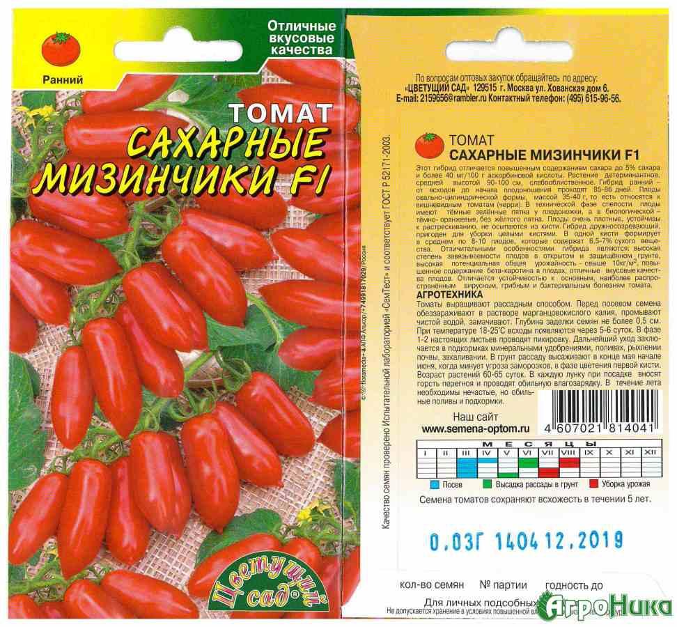 Сахарные пальчики томат отзывы - ogorod.guru