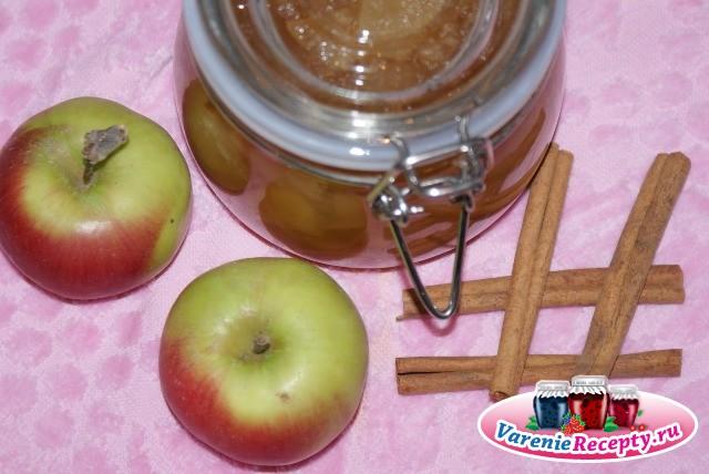 ТОП 3 рецепта приготовления яблочного повидла с корицей на зиму