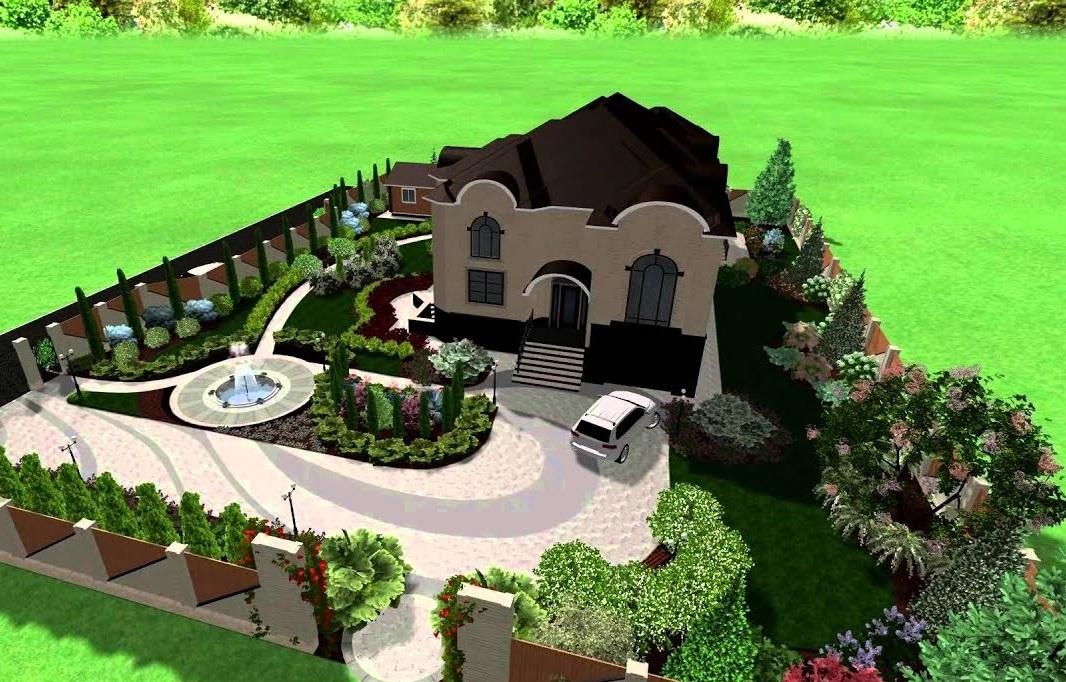 Планировка и дизайн дачного участка для загородного дома: схемы зонирования, фото