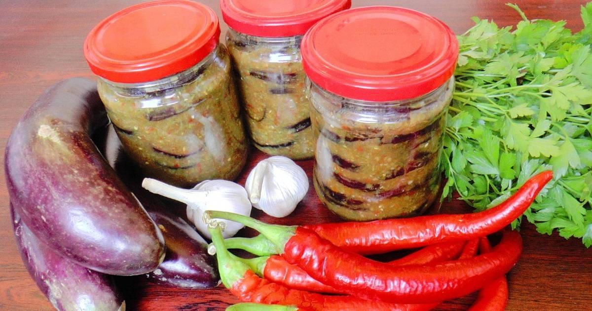 Острые баклажаны на зиму - самые вкусные рецепты пикантной закуски