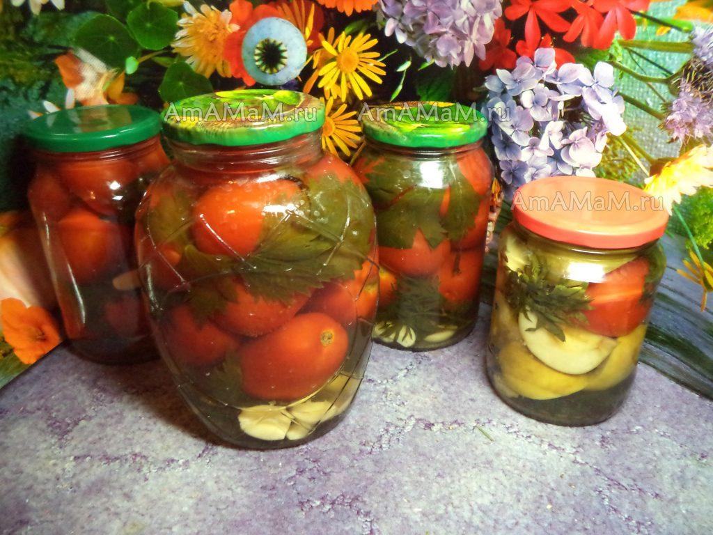 Маринованные помидоры: топ 22 очень вкусных рецепта приготовления на зиму