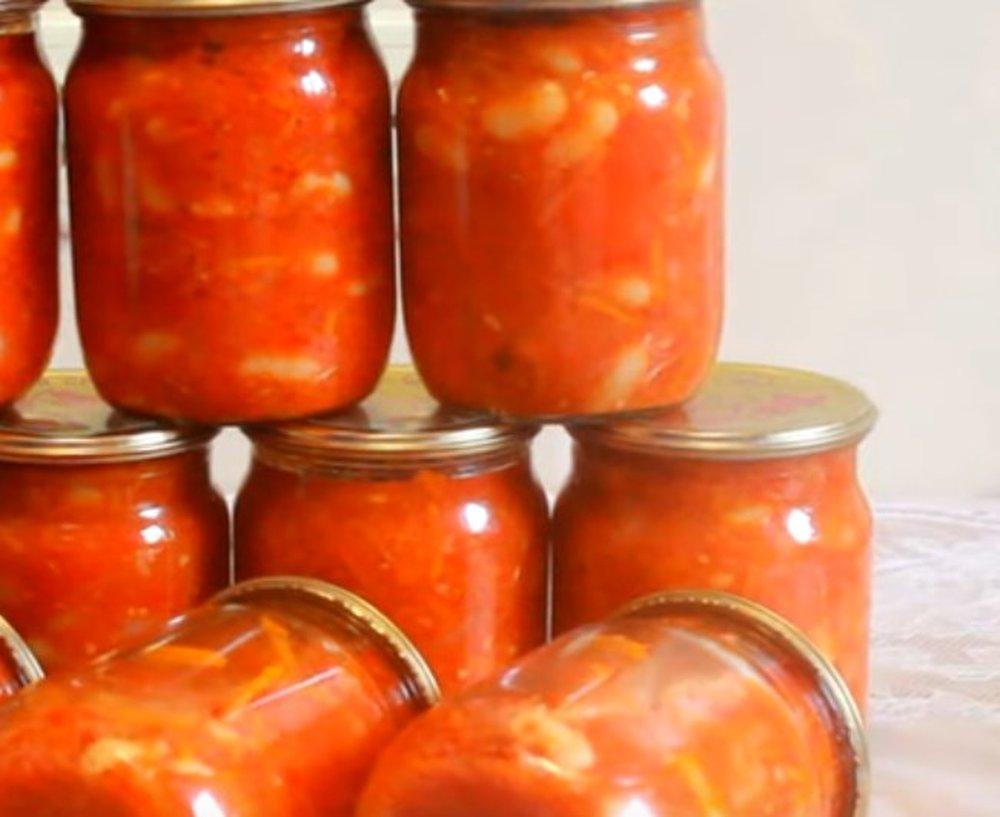 11 рецептов заготовки салата с фасолью на зиму