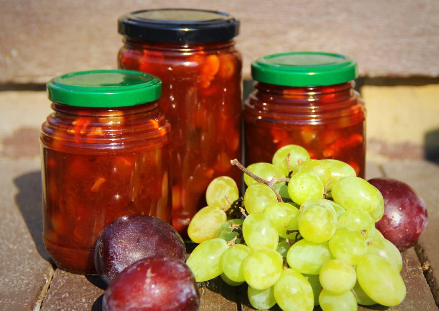 Компот из винограда и яблок на зиму без стерилизации - рецепт с фото пошагово
