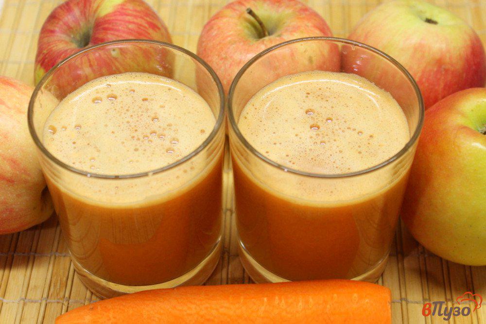 Яблочно-морковный сок на зиму: 3 лучших рецепта приготовления в домашних условиях