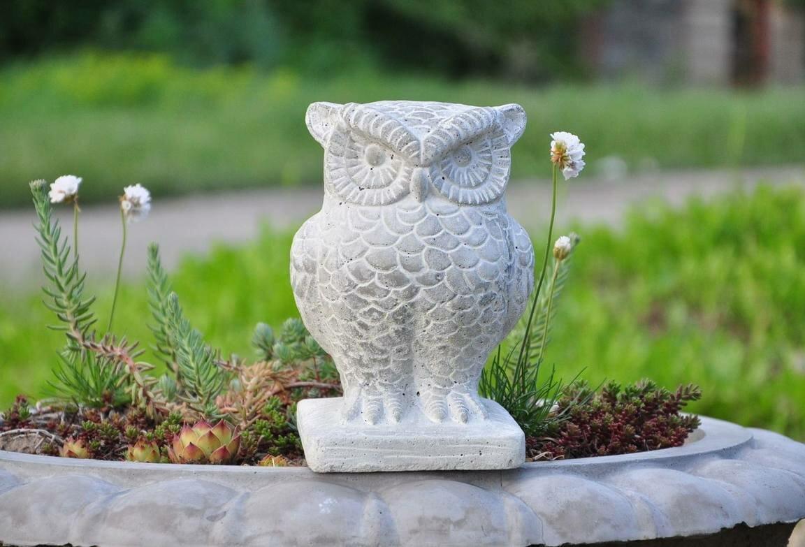 Садовые фигуры из бетона: 4 мастер-класса по изготовлению шедевров