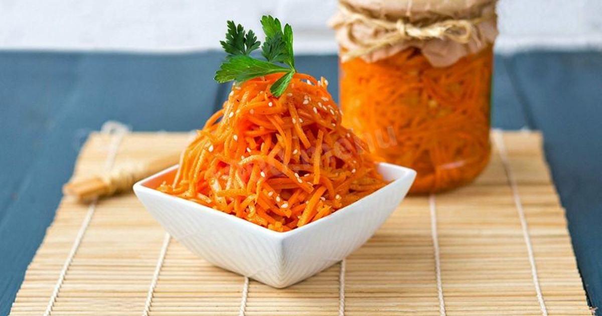 Морковка по-корейски в домашних условиях рецепты