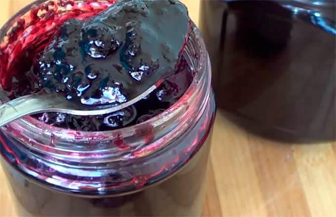 Варенье из черники «пятиминутка» на зиму: рецепт как варить с фото и видео