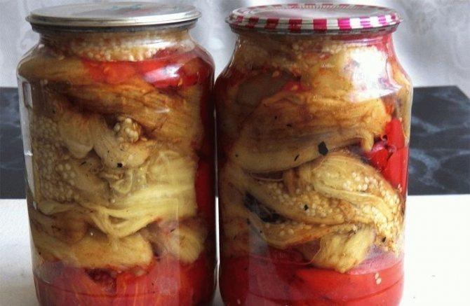 Печеные баклажаны на зиму: лучшие рецепты приготовления вкуснейшей закрутки