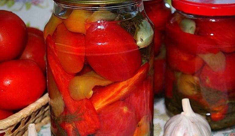 Топ 17 рецептов приготовления на зиму маринованных сладких помидоров