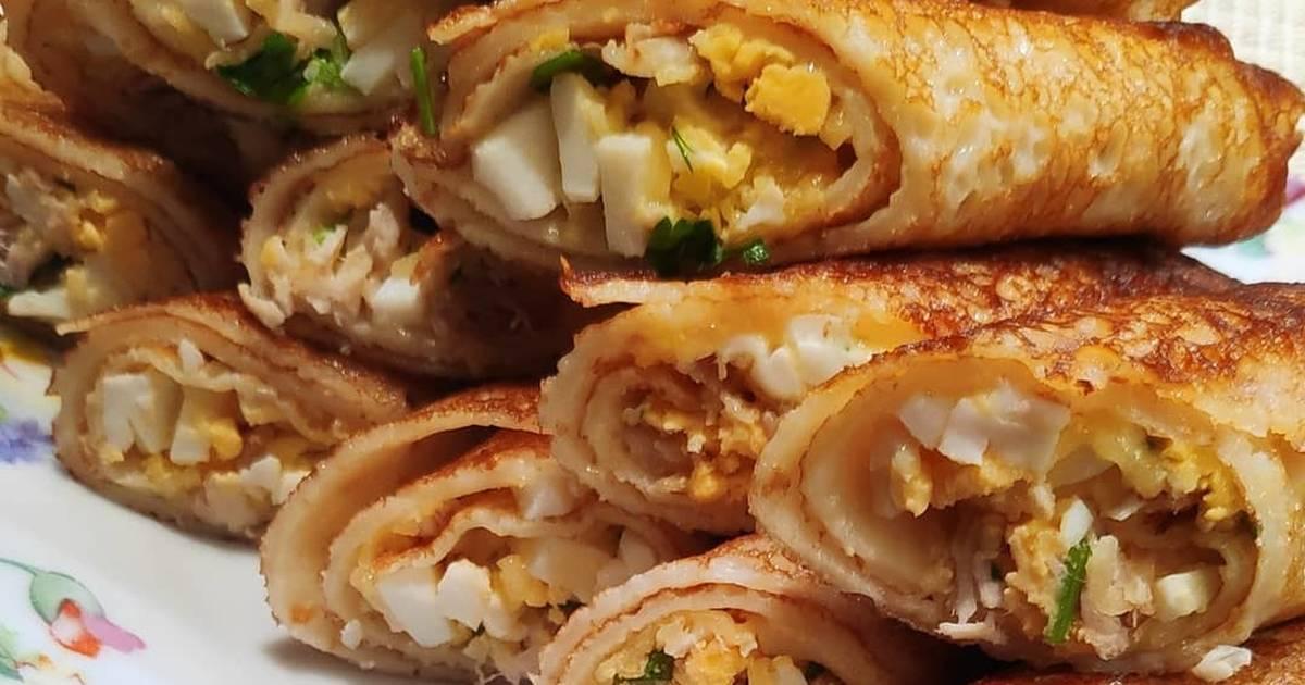 Несладкая начинка для блинов: лучшие рецепты - домашний ресторан