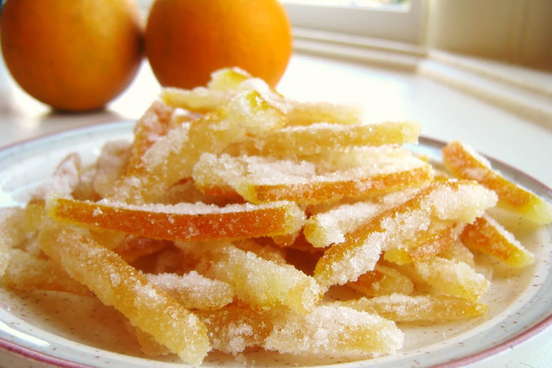 Пошаговый рецепт цукатов из апельсиновых и мандариновых корок - кушаем вкусно