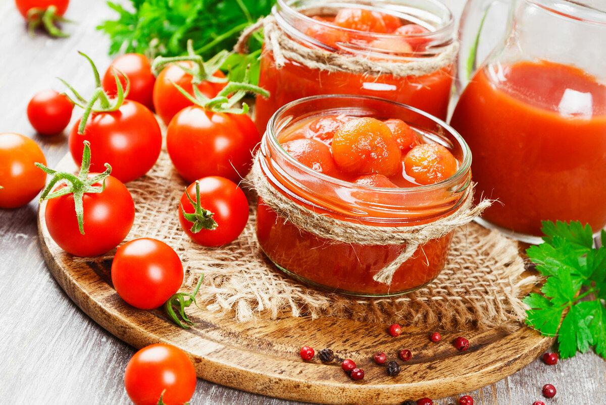 13 лучших рецептов приготовления помидоров в томатной пасте на зиму