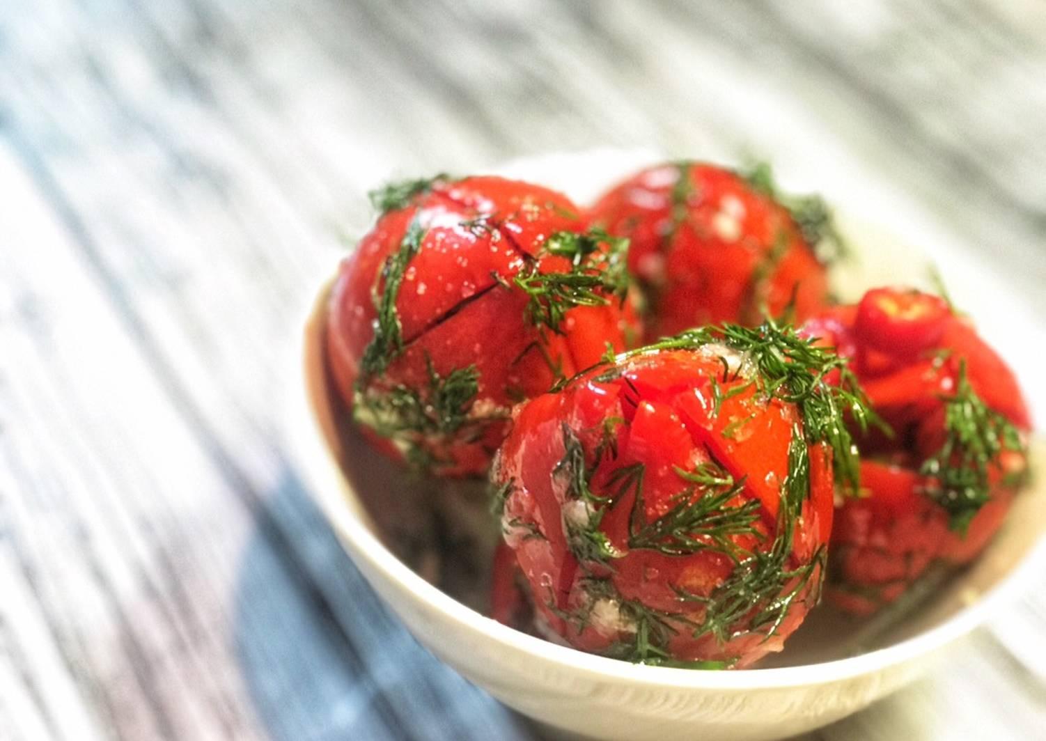 Помидоры маринованные на зиму: 7 очень вкусных рецептов сладких маринованных помидор