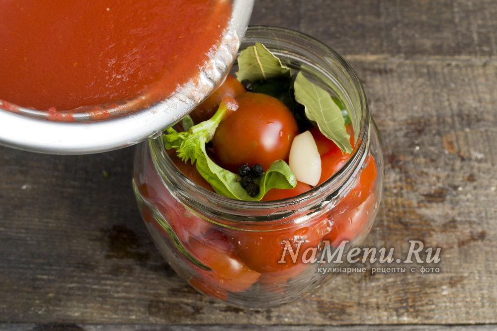 Как приготовить на зиму помидоры черри в собственном соку по рецептам «пальчики оближешь»