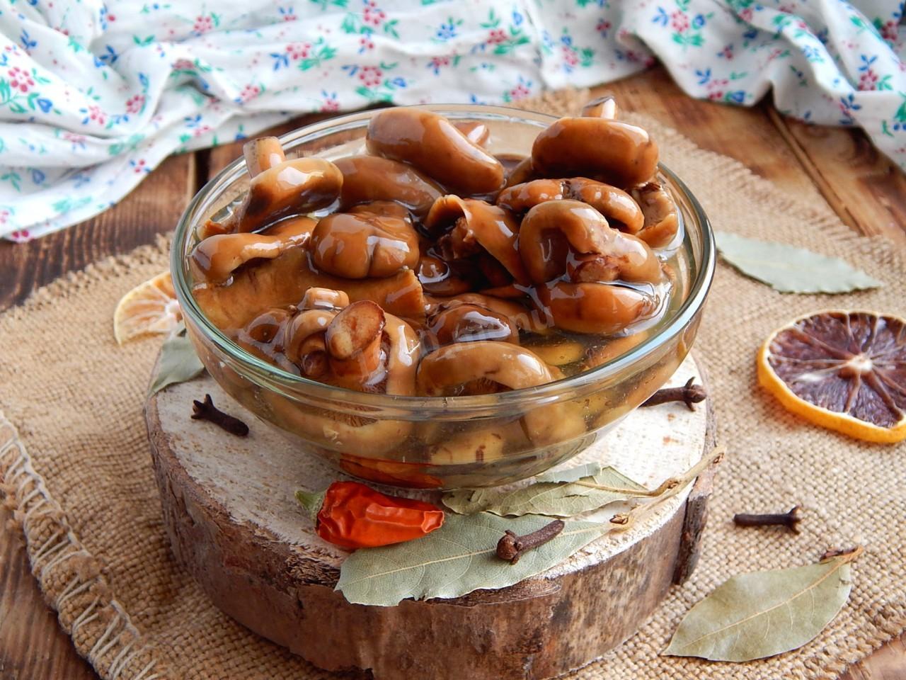 Соленые рыжики горячим способом на зиму рецепты