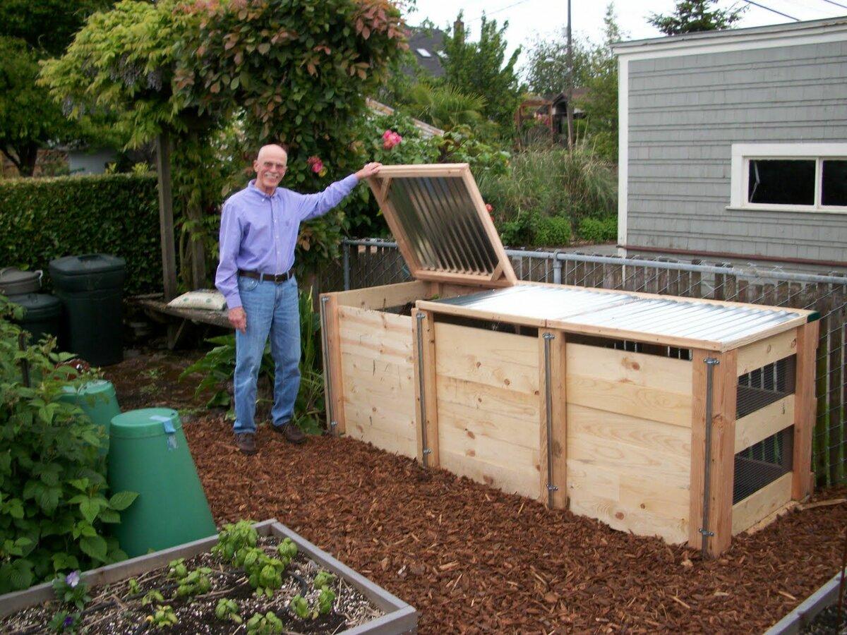 Как приготовить компост на грядке, в ящике, в мешках без особых затрат
