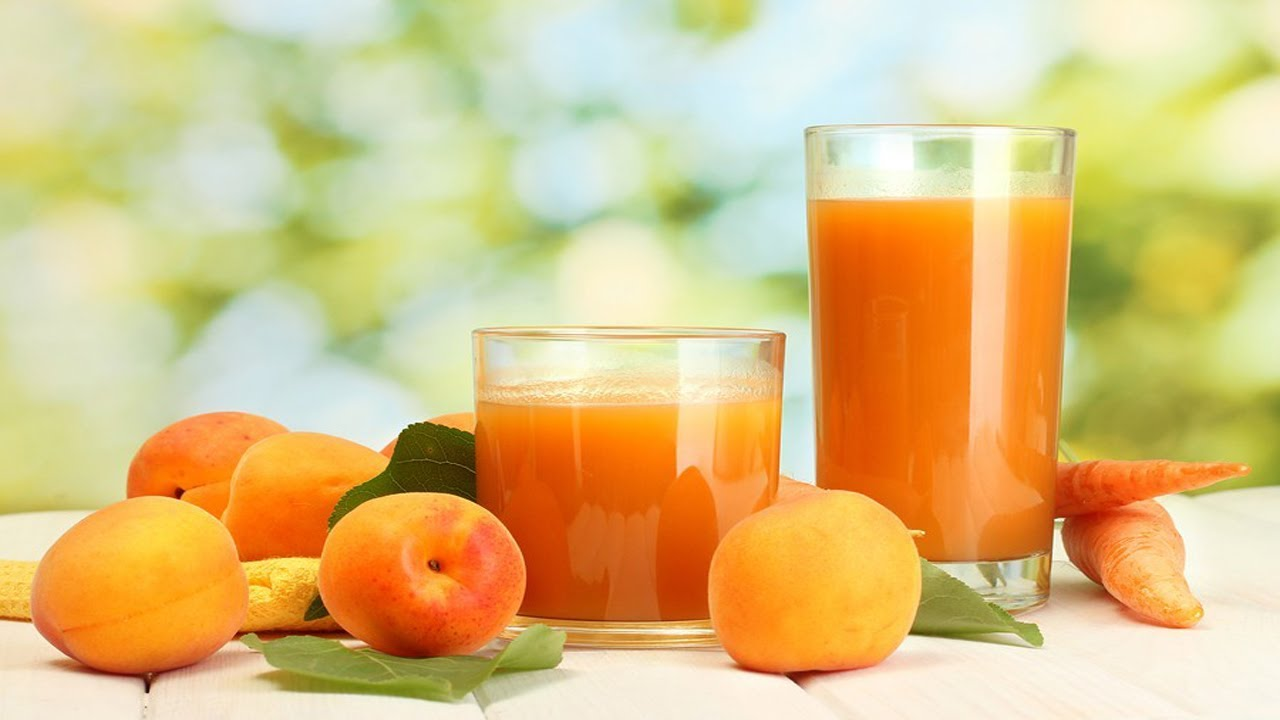 Сок из абрикосов