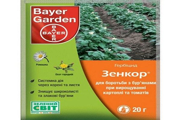 Применение гербицидов для картофеля