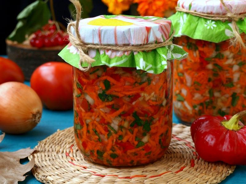 Готовят все! салат из капусты и кабачков на зиму | страна мастеров