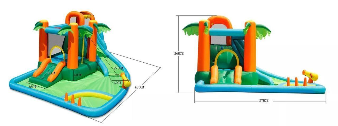 Лучшие детские водные аттракционы для дачи - дачник