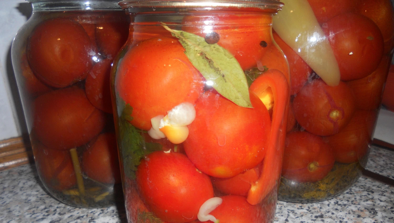Маринованные помидоры быстрого приготовления — 5 ну очень вкусных рецептов