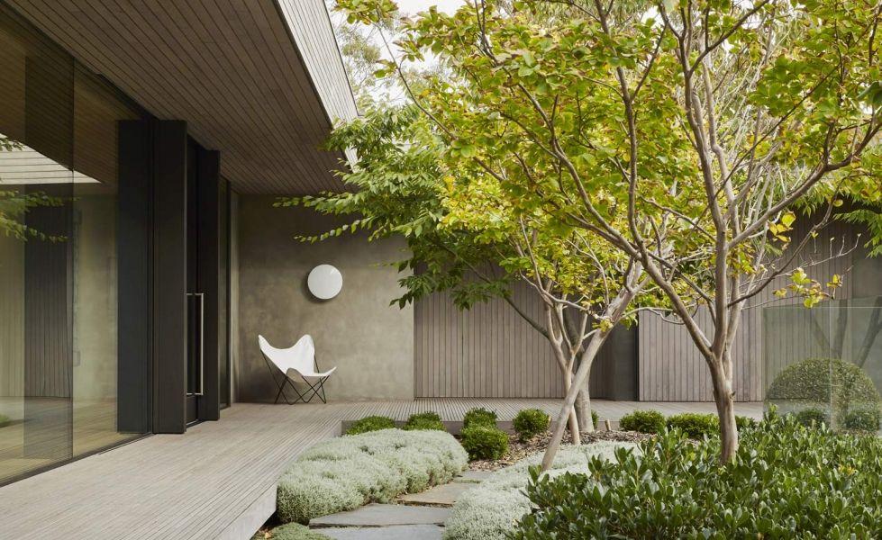 Стиль минимализм в ландшафтном дизайне
