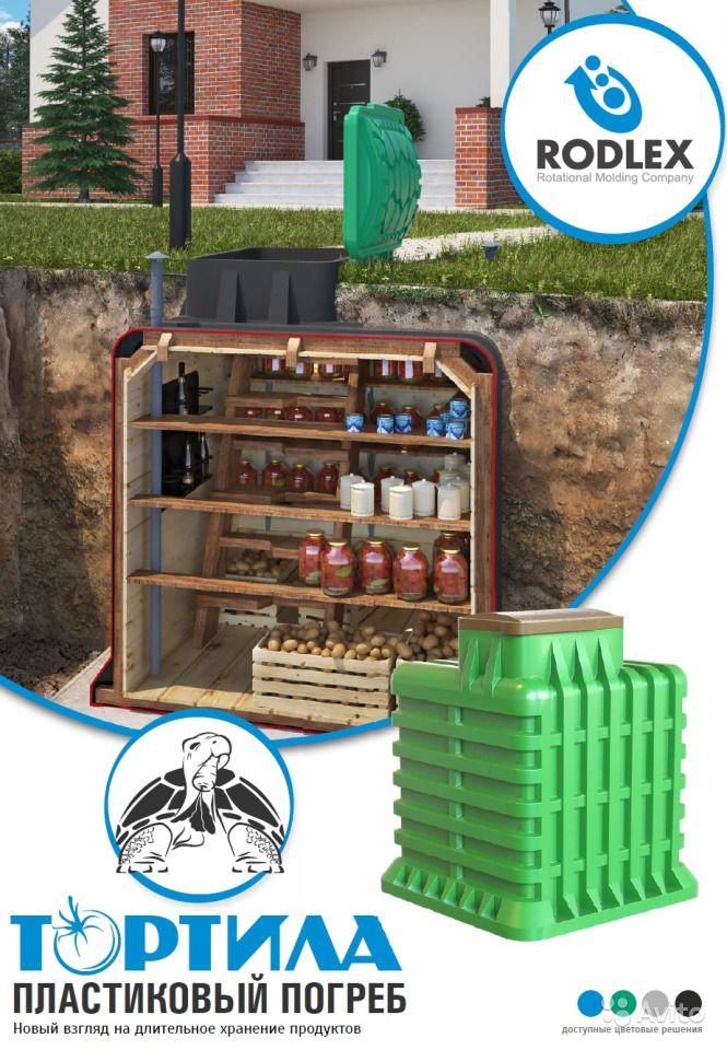 Пластиковый погреб для дачи, дома. выбор, установка