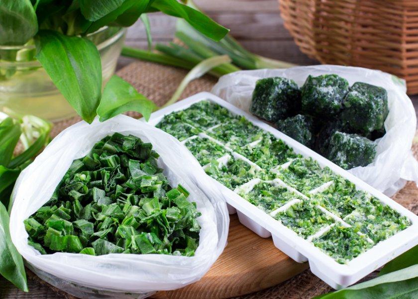 Как заморозить зеленый лук - рецепт с пошаговыми фото   меню недели