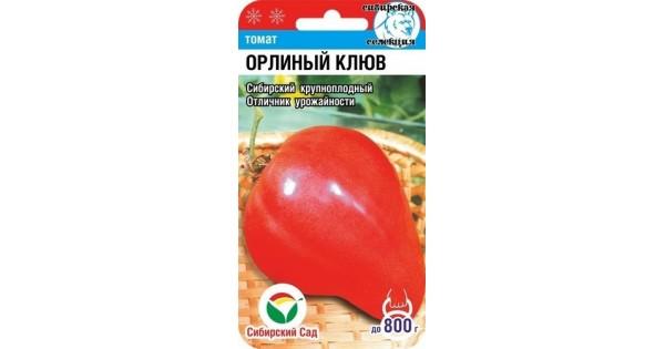 Характеристика и описание сорта томата орлиный клюв, его урожайность