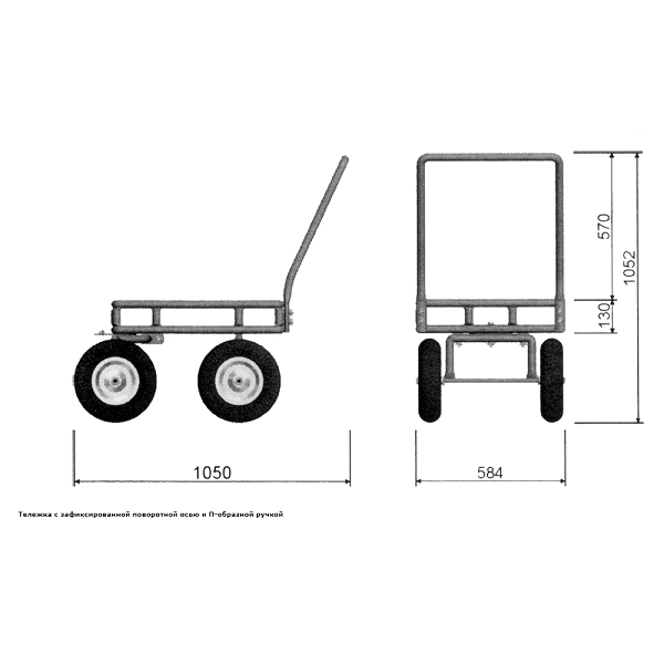Тележка для перемещения грузов: виды и изготовление своими руками тележек из различных материалов